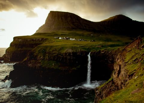 Gasadalur Vágur Faroe Islands