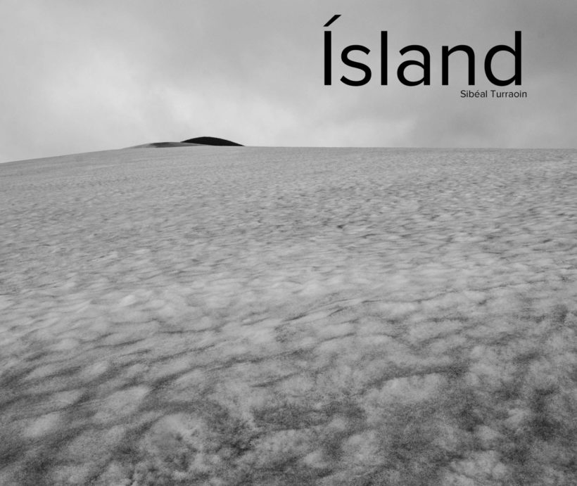 Cover from Ísland - a photographic book of the Icelandic summer