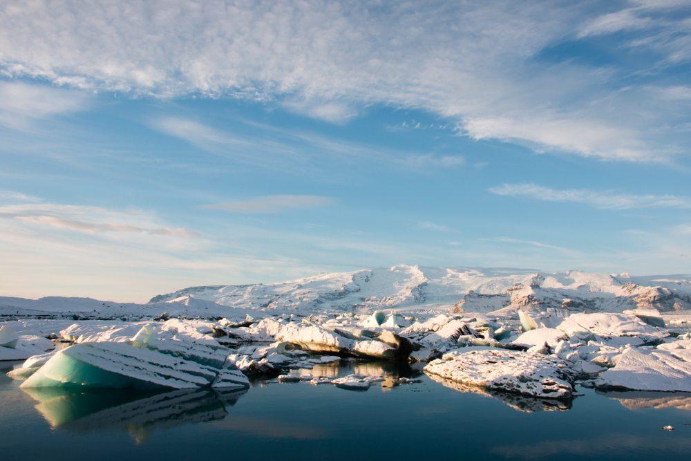 8172 Dawn at Jökulsárlón glacier lagoon, Iceland