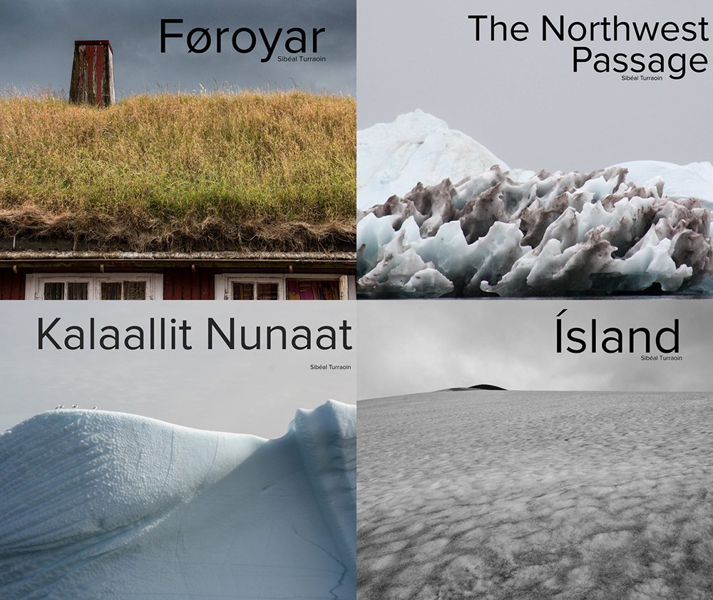 travel photography books - arctic, greenland, alaska, canada, northwest passage, faroe islands, greenland, iceland