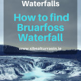 How to find Bruarfoss Waterfall in Iceland