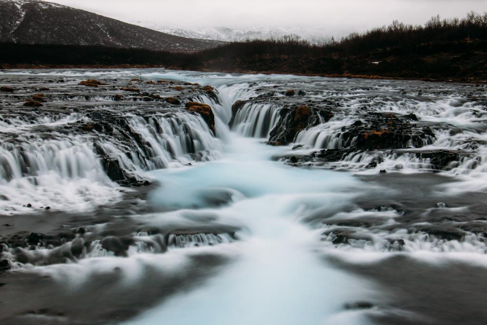 9154 Bruarfoss Waterfall, Iceland
