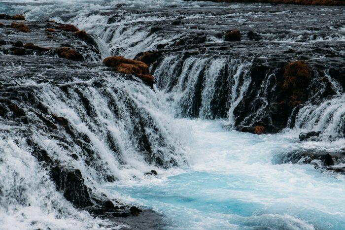 9194 Bruarfoss Waterfall, Iceland