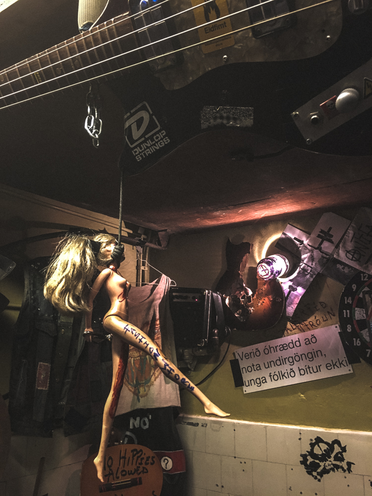 Music in Iceland: The Punk Museum - Pönksafn Reykjavík