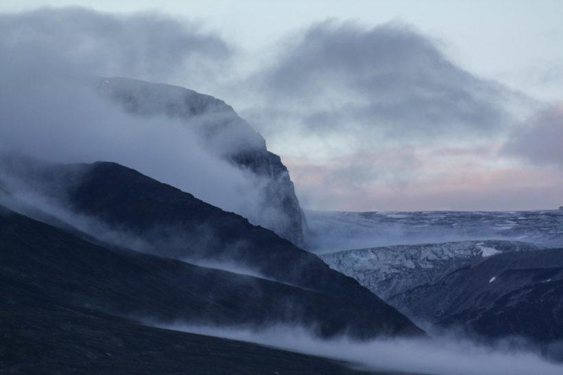 Misty mountains, Saqqaq, Kalaallit Nunaat (Greenland)