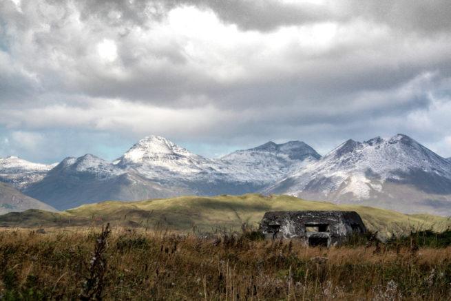 Second World War Pillbox, Dutch Harbour, Amaknak, Alaska