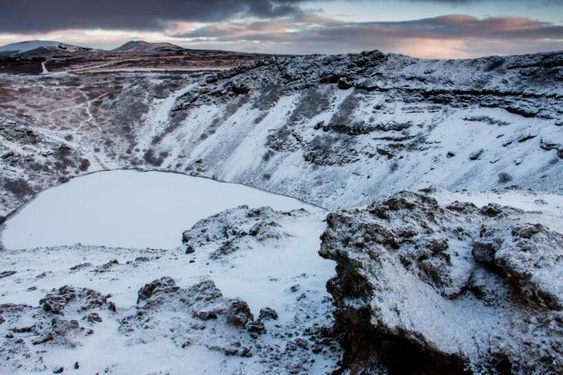 Kerið Kerid Crater, Iceland