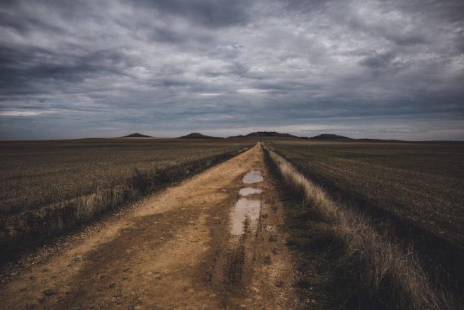The Open Road, Castrojerez to Fromista, Camino de Santiago (Camino Frances)