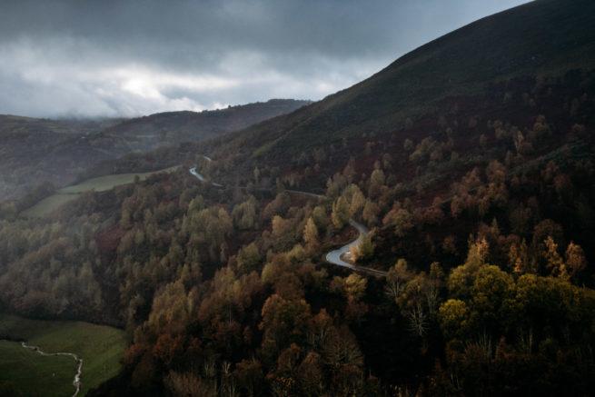 Approaching Galicia on an autumn camino, Camino de Santiago (Camino Frances)