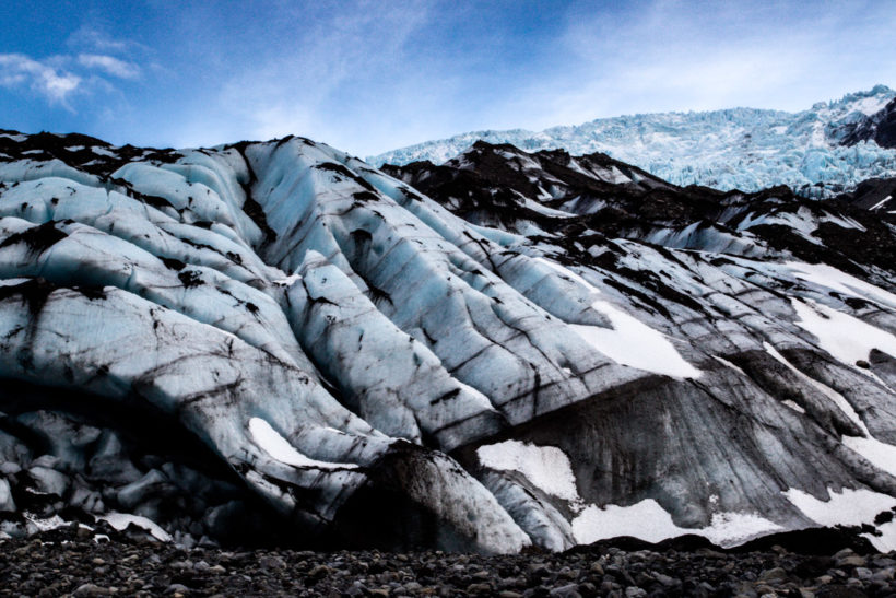 Blue glacier, Skaftafell, Iceland